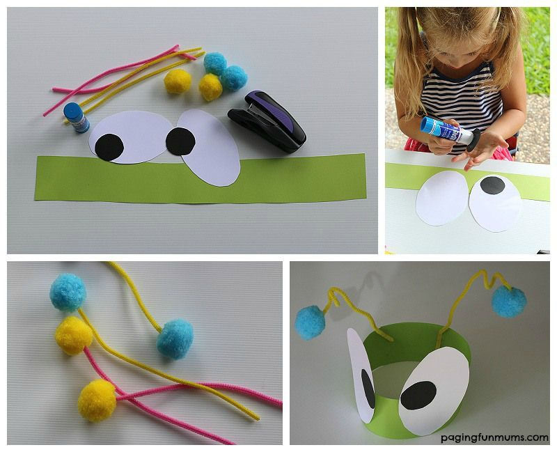 Top 7 bug crafts for preschoolers craft for Bugs arts and crafts