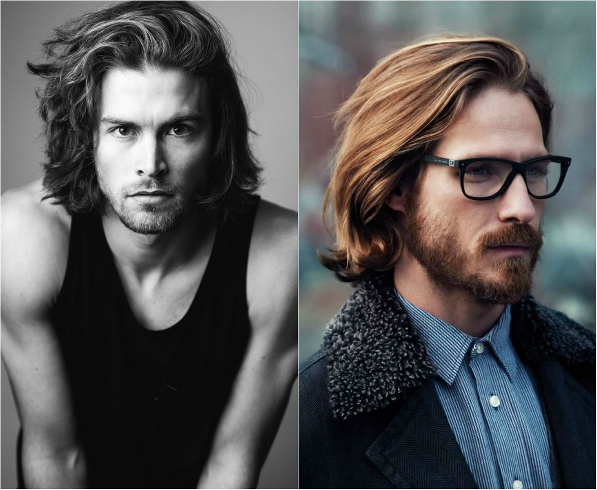 A Guide To Mens Shoulder Length Hair