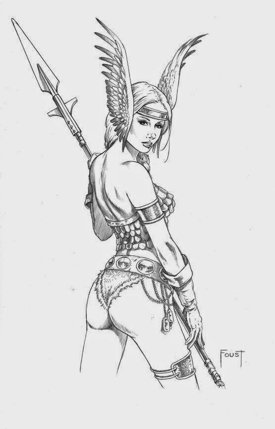 Valquiria Marvel Comics Desene Erotism Zane