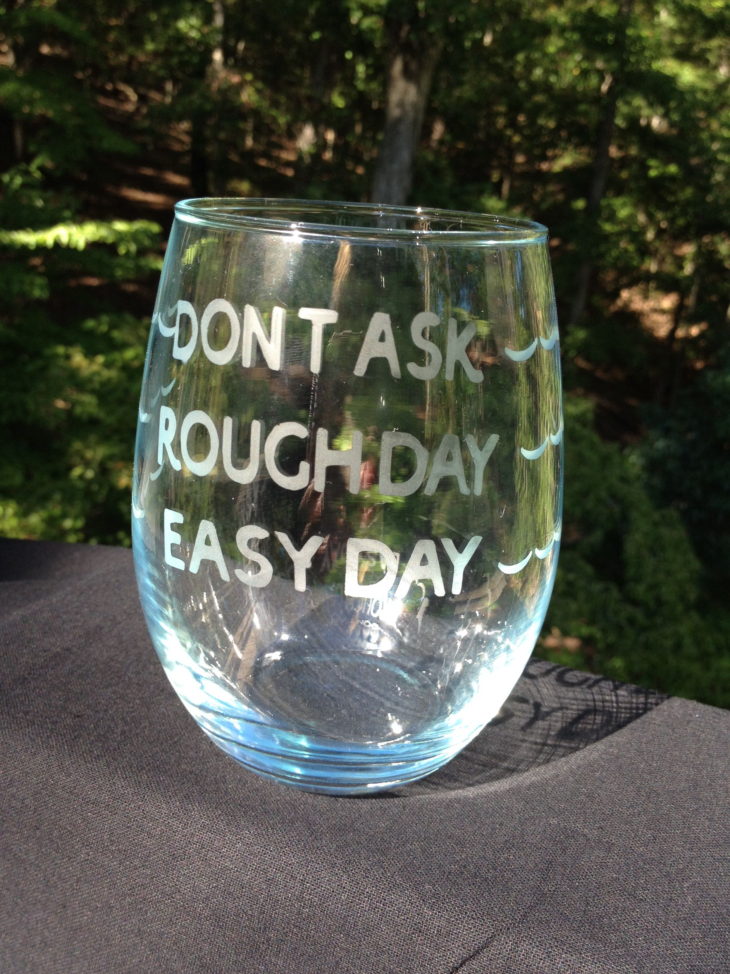 How much do I need? Etched glass..cute gift idea ;) | DIY ...