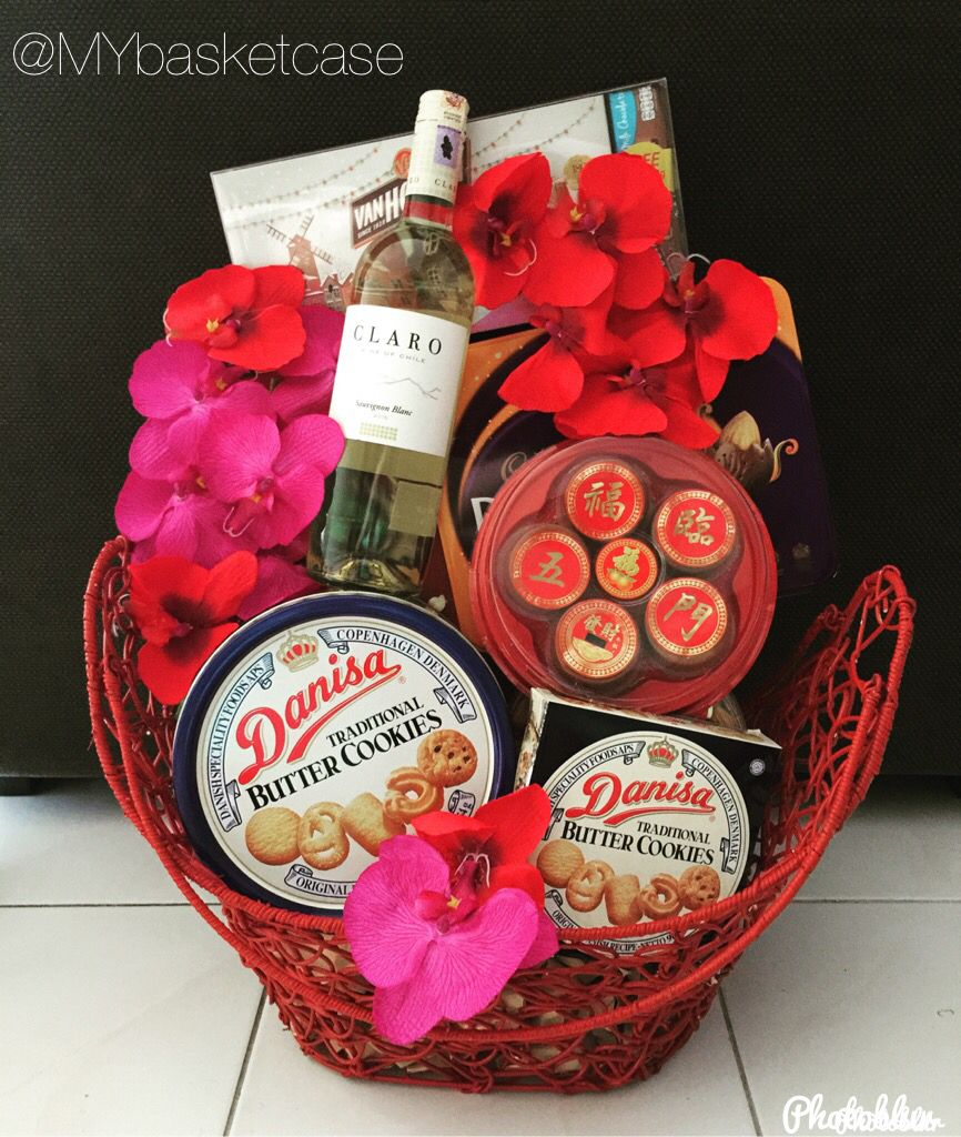 A Chinese New Year gift basket specially made for our