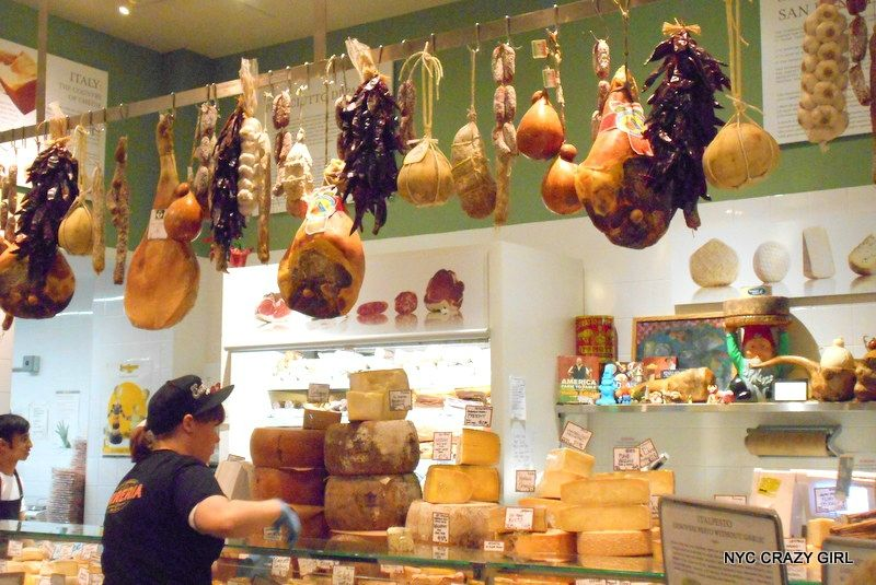 eataly food hall food new york manhattan fromage charcuterie