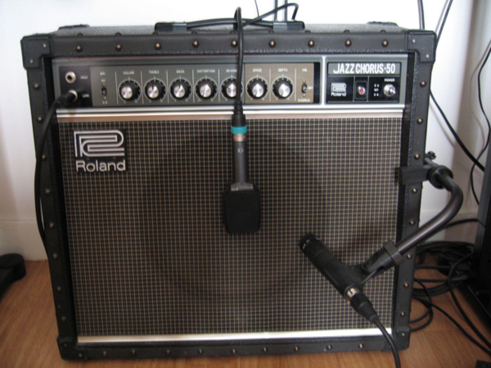 Roland JC-50 | redeye | Guitar amp, Fender guitars, Guitar rig