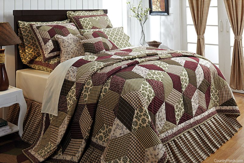 Calistoga Quilt Quilt Sets Bedding Country Style Curtains Home Decor