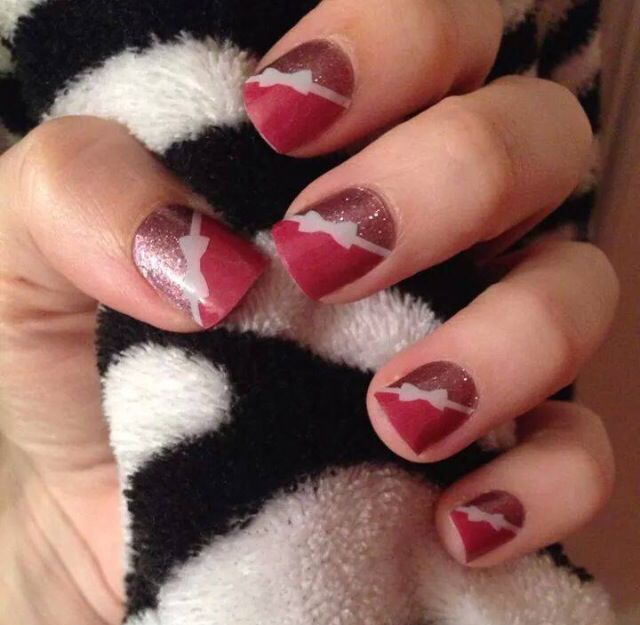Pretty in Pink layered with Tinted Bows | Jamberry nail ideas ...