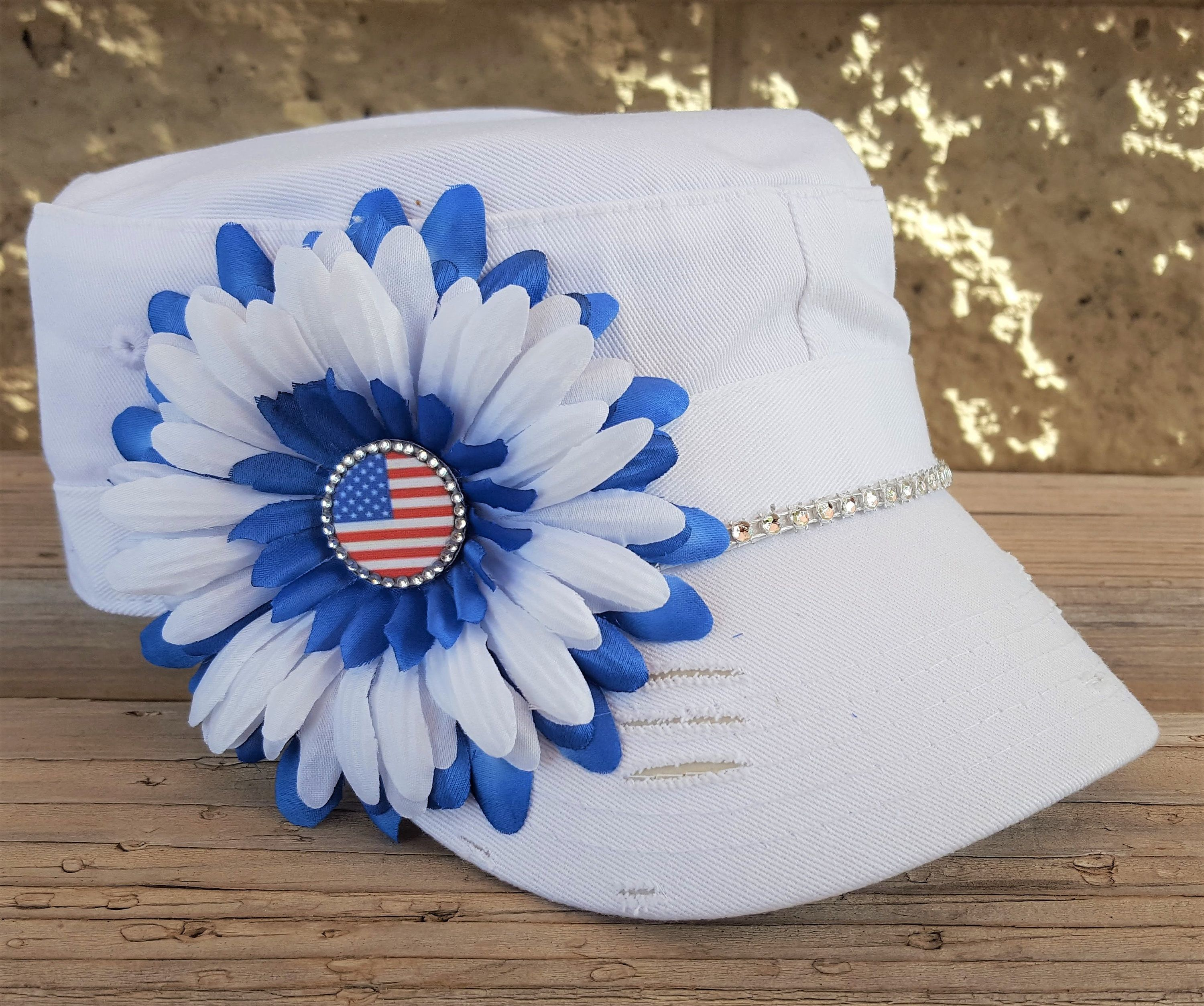 b5572d381dc Bling Flag Hat