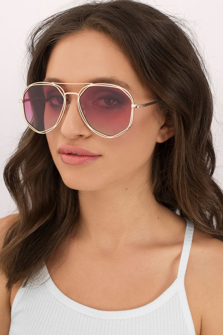Fashion week Chic Bohemian sunglasses for summer for woman