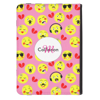 Emoji Style Fun Cute Trendy Smiley Faces Kindle 4 Cover