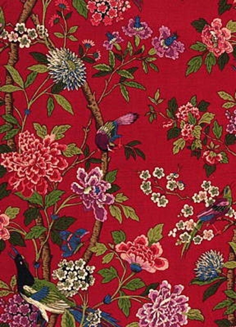 Gp J Baker Fabrics Hydrangea Bird R1355 Online Worldwide Shipping Http