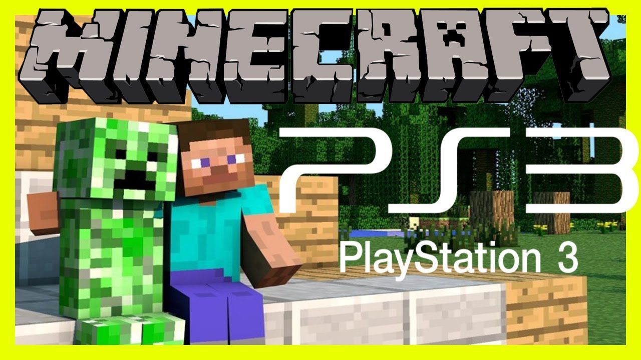 Cool Minecraft Ps3 Playstation Three Edition Model Gameplay Component 1 Surviving Our Very First Evening Playstation Cool Minecraft Gameplay