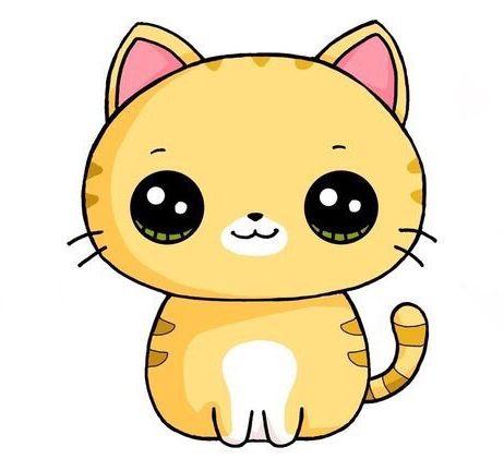 Cute Cat Clipart Kawaii Doodles Cute Animal Drawings Kawaii Cute Kawaii Drawings