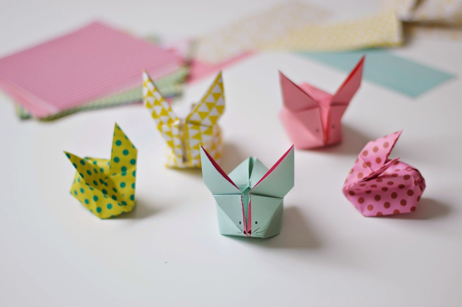 Photo of Origami haasjes DIY | Wimke