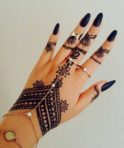 Henna Tattoo Henna Henna Mehndi Beautiful Tattoos Pinterest