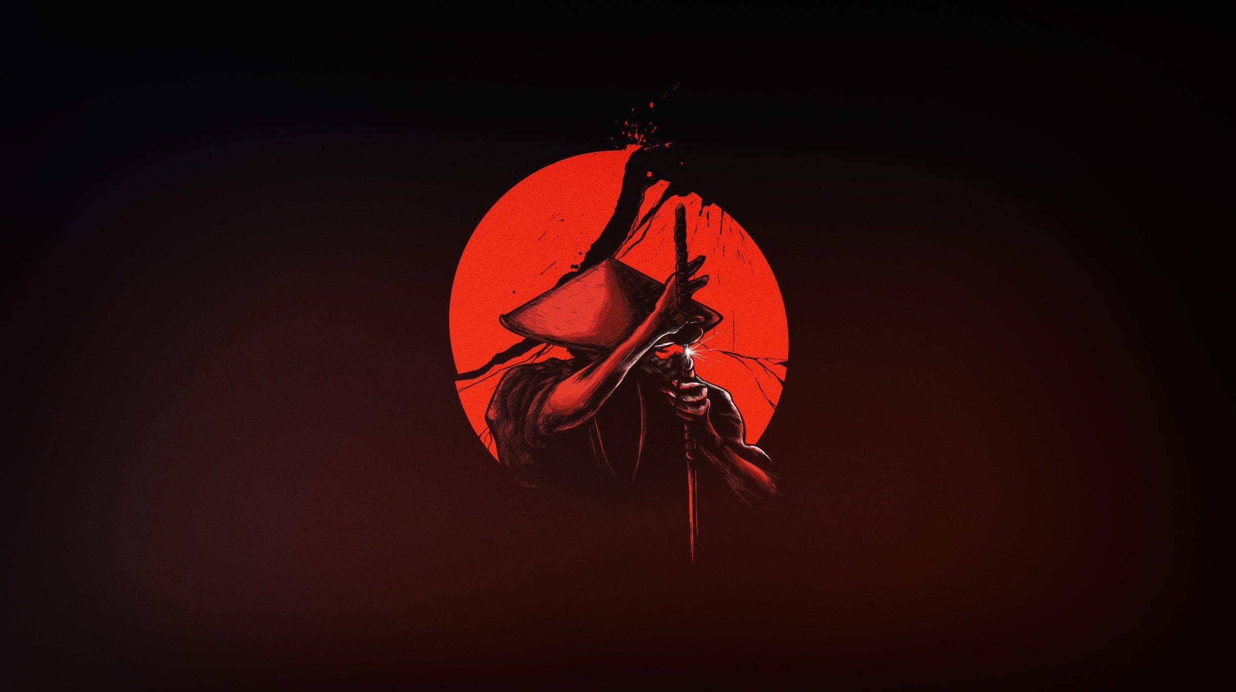 The Sun Minimalism Japan Sword Warrior Samurai Art Katana 1080p Wallpaper Hdwallpaper Desktop In 2021 Samurai Wallpaper Samurai Art Japanese Art
