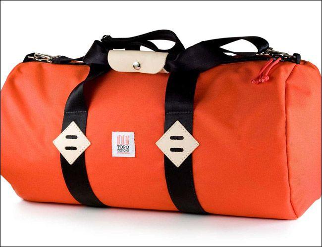b9144eac14 Topo Designs Orange Cordura Duffel Bag.  130. (+29 Other Mens Duffels    Weekenders.)