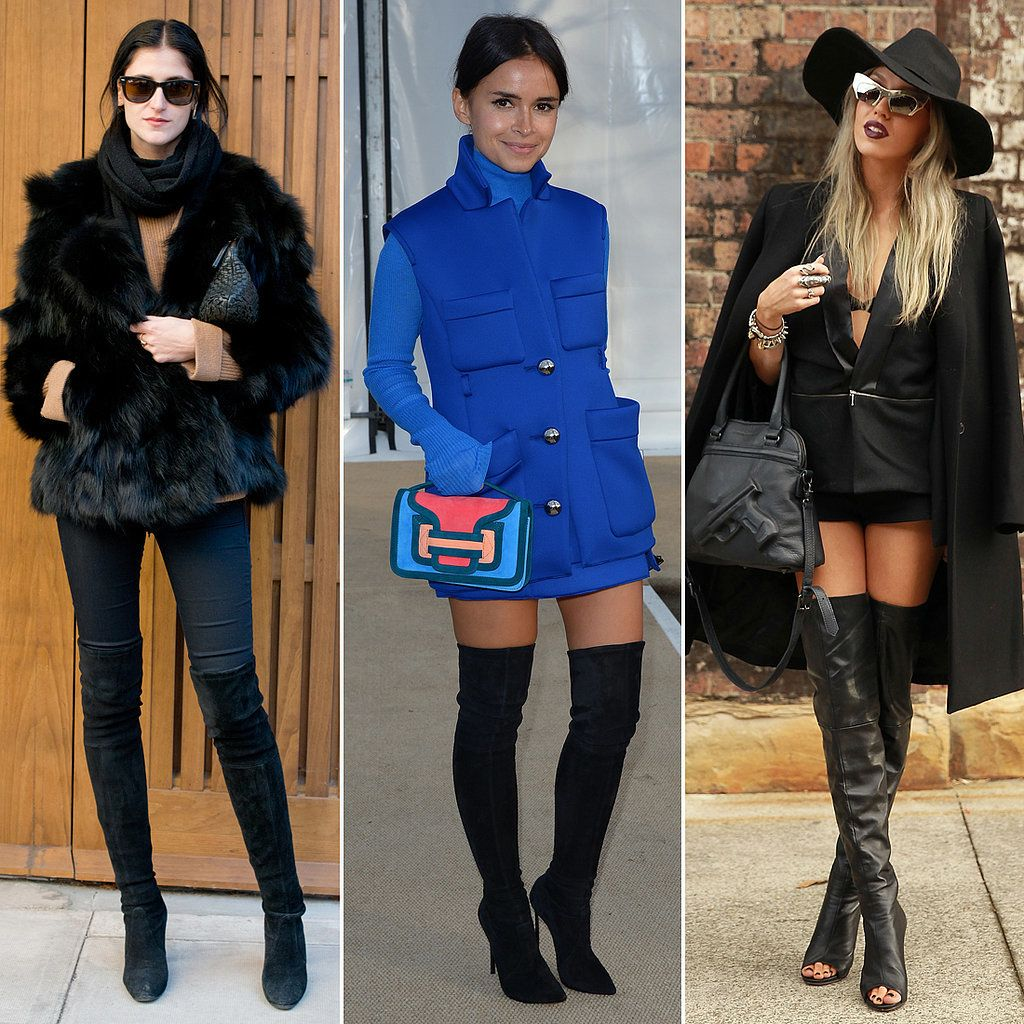 High Boots Over The Knee - Boot Hto