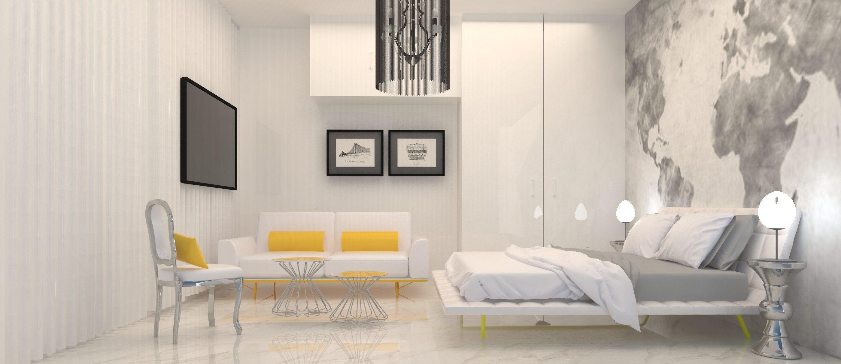 #interiordesign #sketchup #bedroom #rendering #architecture #kmutt #soa+d #hostelproject