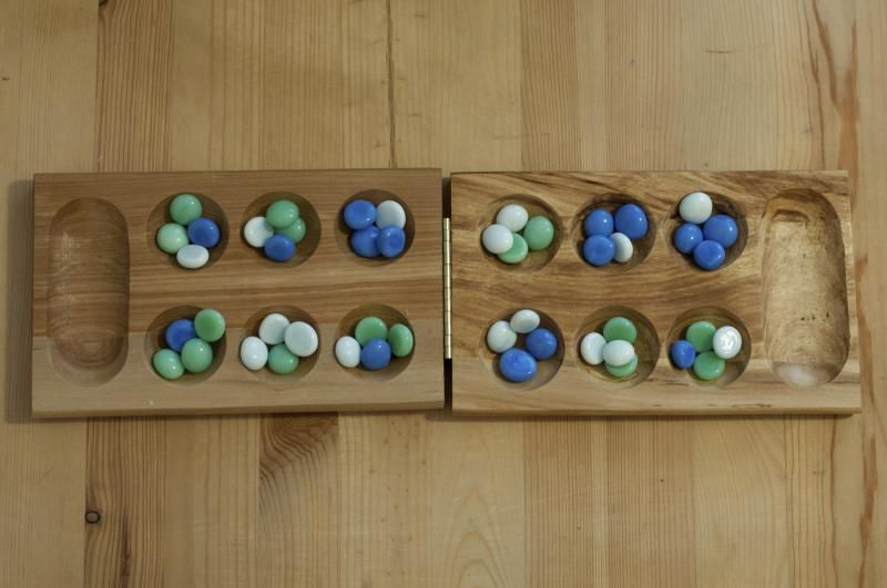 How To Play Mancala With Images Mancala Game Old Games Two