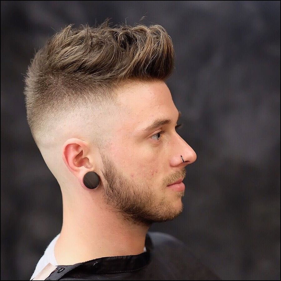 Skin Fade Haircut Long On Top Cool Hairstyles For Men Long Hair Styles Men Mens Haircuts Short