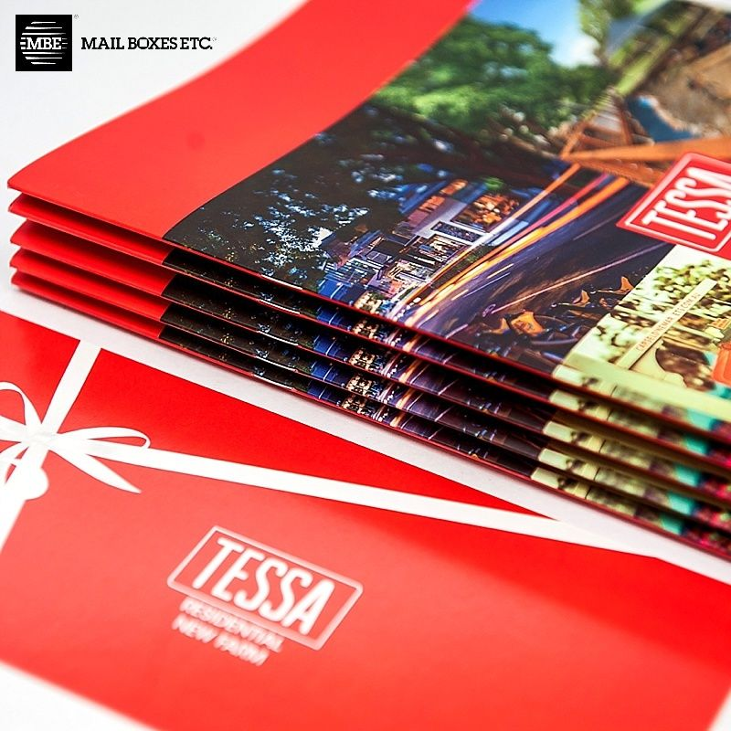 A perfect stack of perfect bound booklets for tessa residential a perfect stack of perfect bound booklets for tessa residential printed at mbe brisbane cbd reheart Image collections
