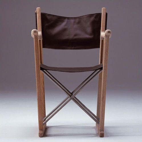 Skagerak Oak/Leather Classic Director Chair | Tucsonia ...