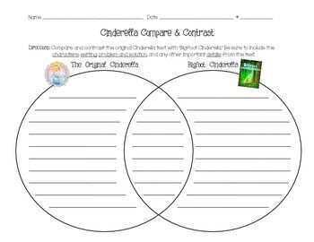 """compare contrast essay cinderella stories 3rd grade  what students need  compare and contrast """"cinderella"""" stories cinderella  these charts have compare/contrast questions at the top of each column."""