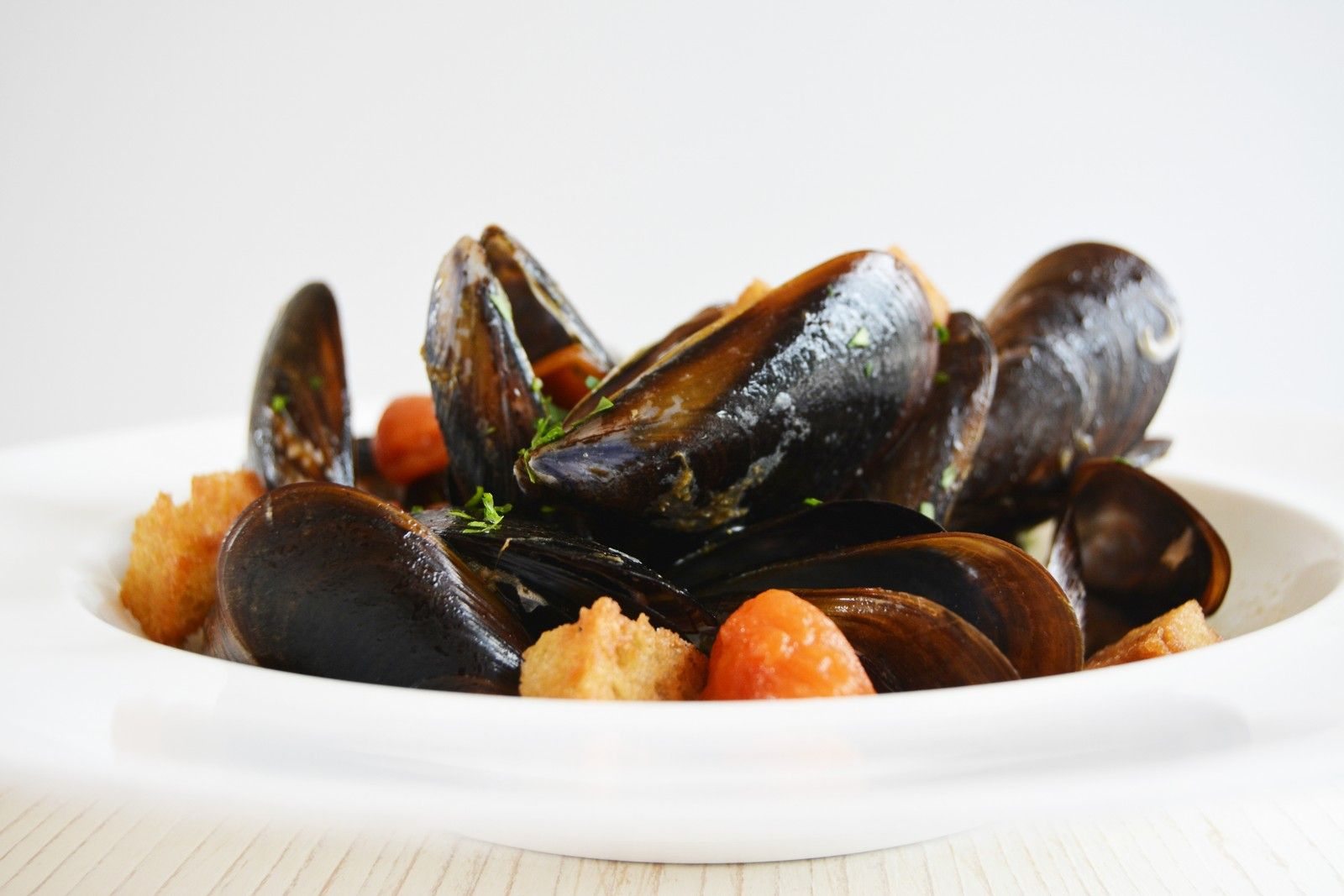 Peppered Mussels http//masseriacordadilana.it/ food
