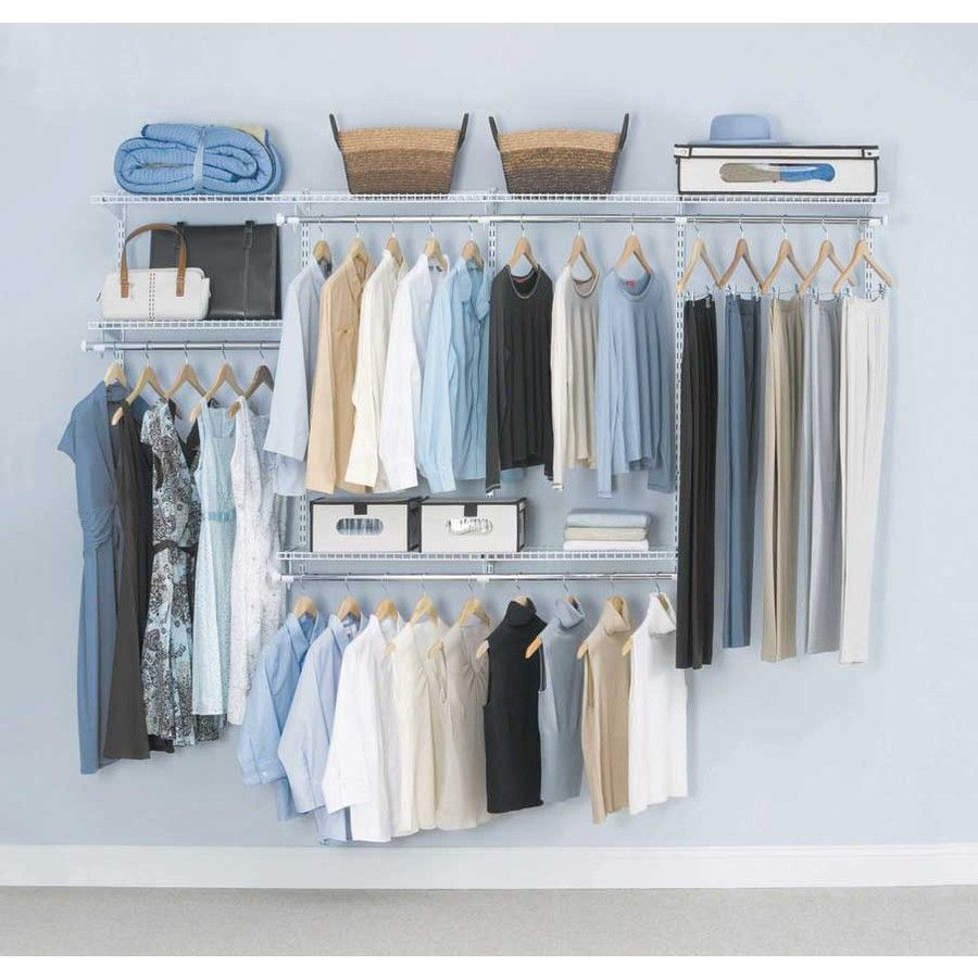 shelving ideas closetmaid heavy rack tremendous for garment shelf closet shelves closets duty sizes design organizer metal organizers wire racks