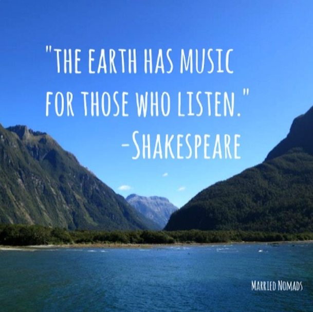 Image result for the earth has music for those who listen