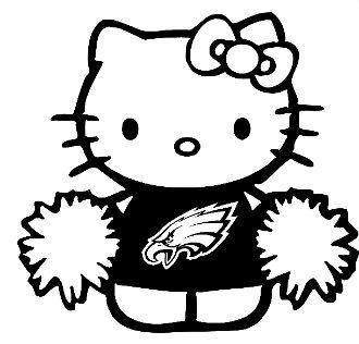 New Custom Screen Printed T Shirt Hello Kitty Cheerleader Philad Hello Kitty Screen Printing Kitty