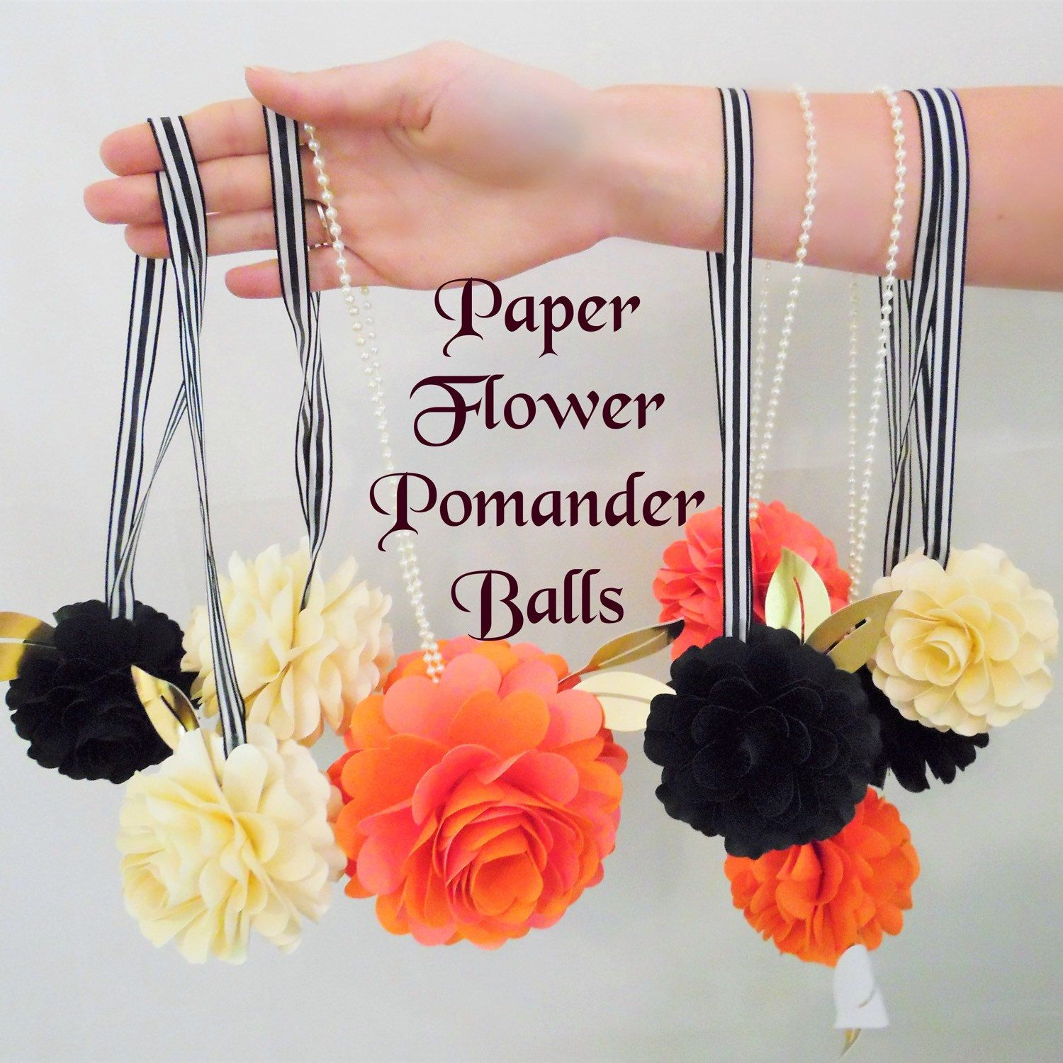 Paper flowers how to make paper flowers flower templates pomander paper flowers are always in bloom who doesnt love adorable decorative flower balls learn to diy for yourself mightylinksfo