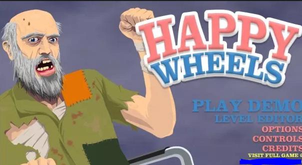 Happy Wheels Demo Play Online Unblocked Games Gtten Com Happy