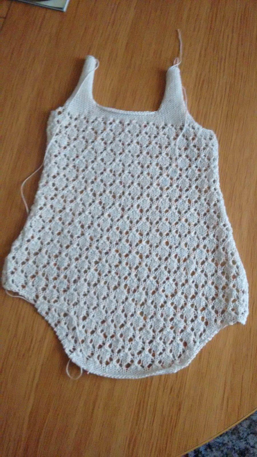 Talla: 0-3 meses Material necesario: 50 gramos de hilo de algodón ...