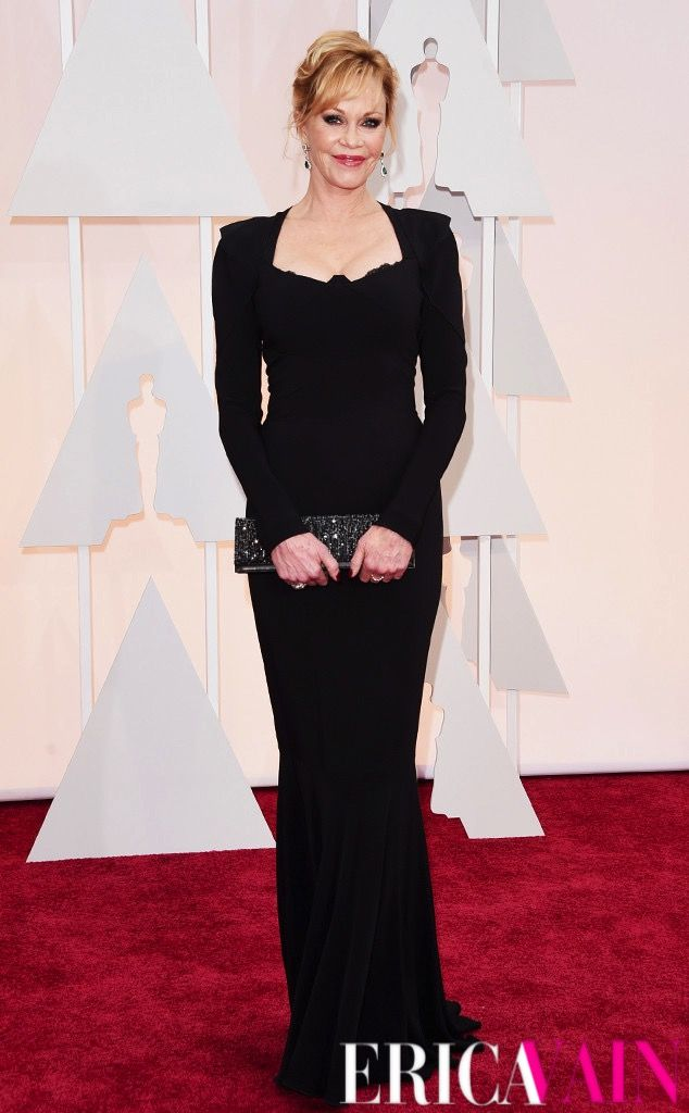 Melanie Griffith on the Red Carpet. #Oscars #VainOscarsCoverage #EricaVain #RedCarpet