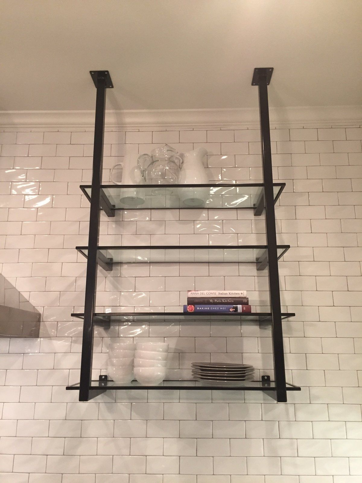 Shelving Units With Images Glass Shelves Kitchen Glass Shelf
