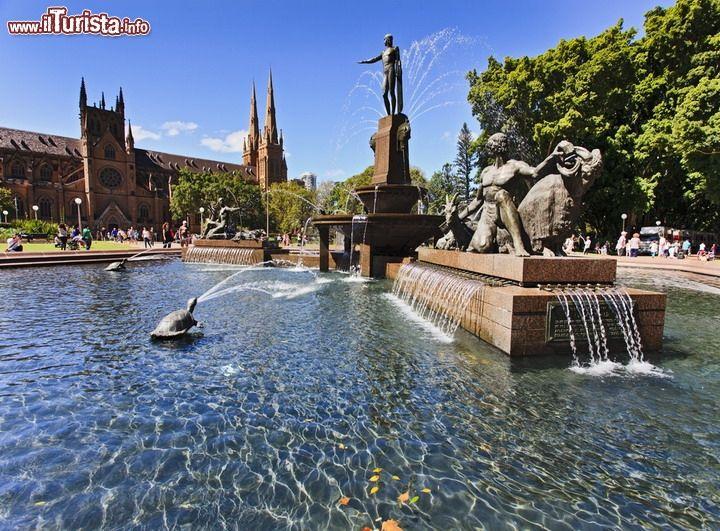 Archibald Fountain, Sydney, Australia:si ...