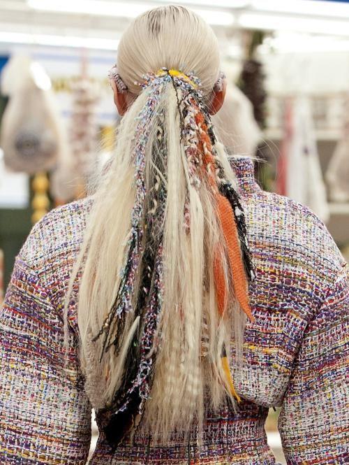 Paardenstaart Met Extras Chanel Kapseltrend2015 Cool Dos