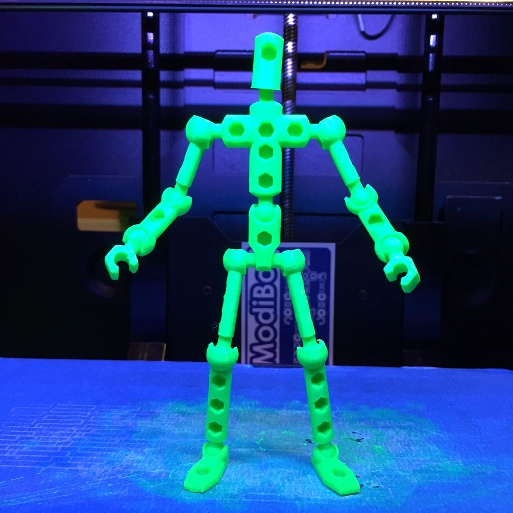 Download Free 3D Print Files For ModiBot Mo Poseable