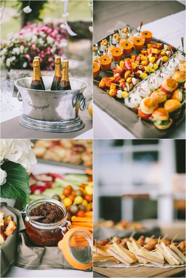 French Wedding Food Ideas Image By M J Photography