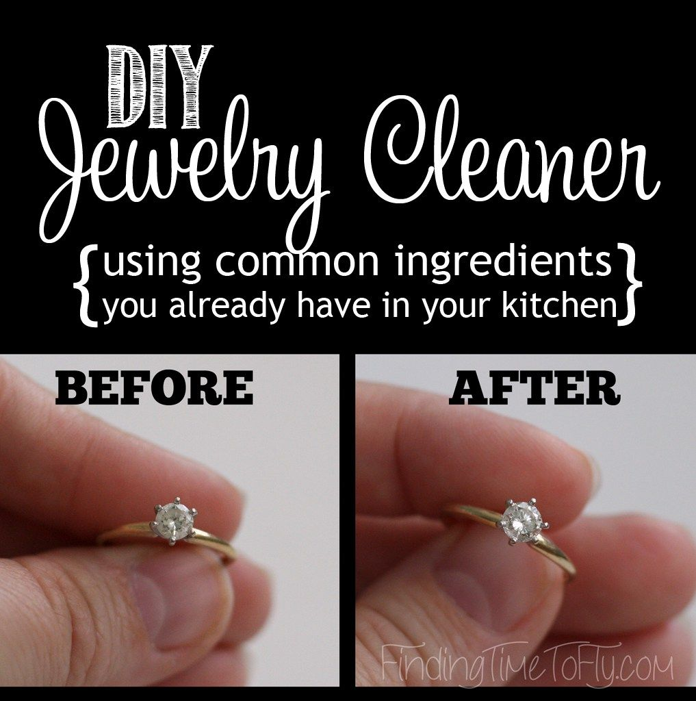 Diy Jewelry Cleaner Silver Jewelry Cleaner Cleaning Silver