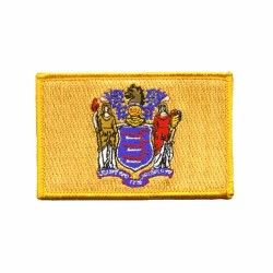 New Jersey Embroidered Patch Embroidered Patches Flag Patches Patches