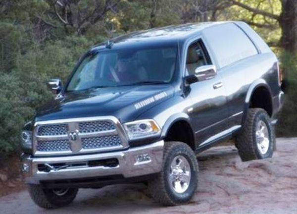 2017 Dodge Ramcharger Specs | Dodge ramcharger, Dodge suv