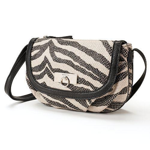 *NEW* ROSETTI Zebra Taylor Zip Flap Crossbody #ROSETTI #MessengerCrossBody
