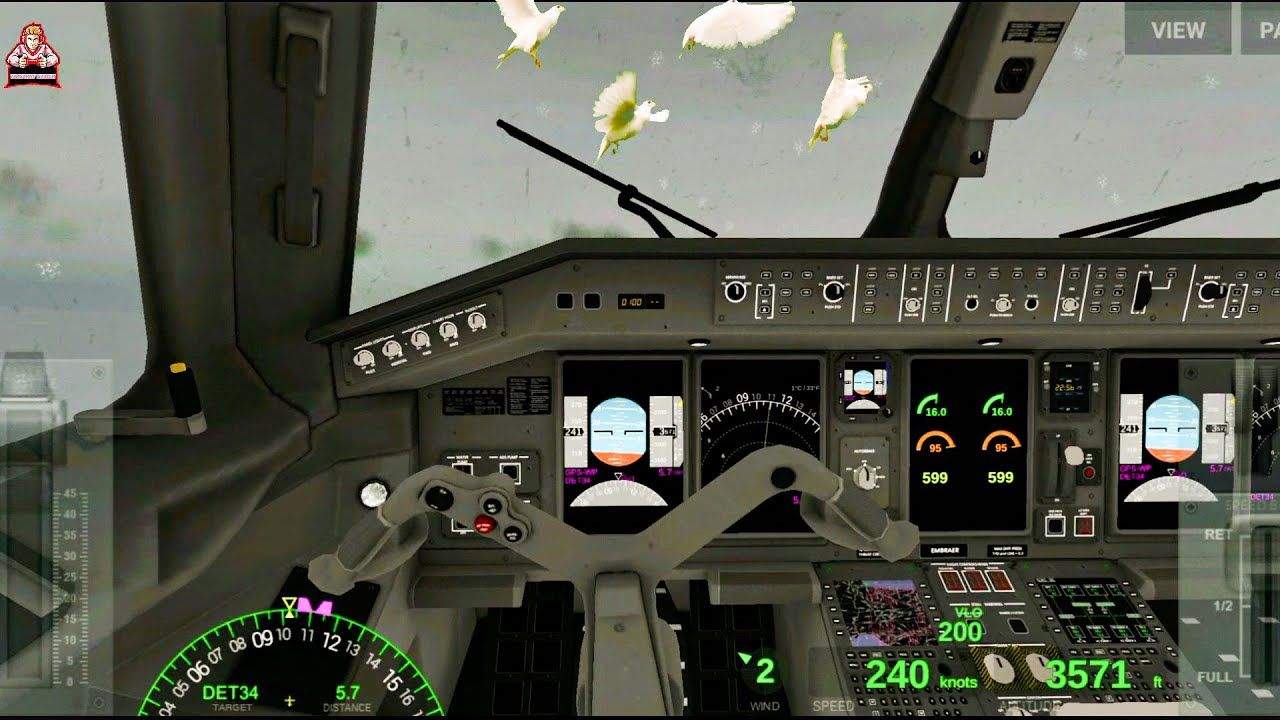 Airline Commander Game New Update Free Download Android Ios Bird Strike Airline Cdr