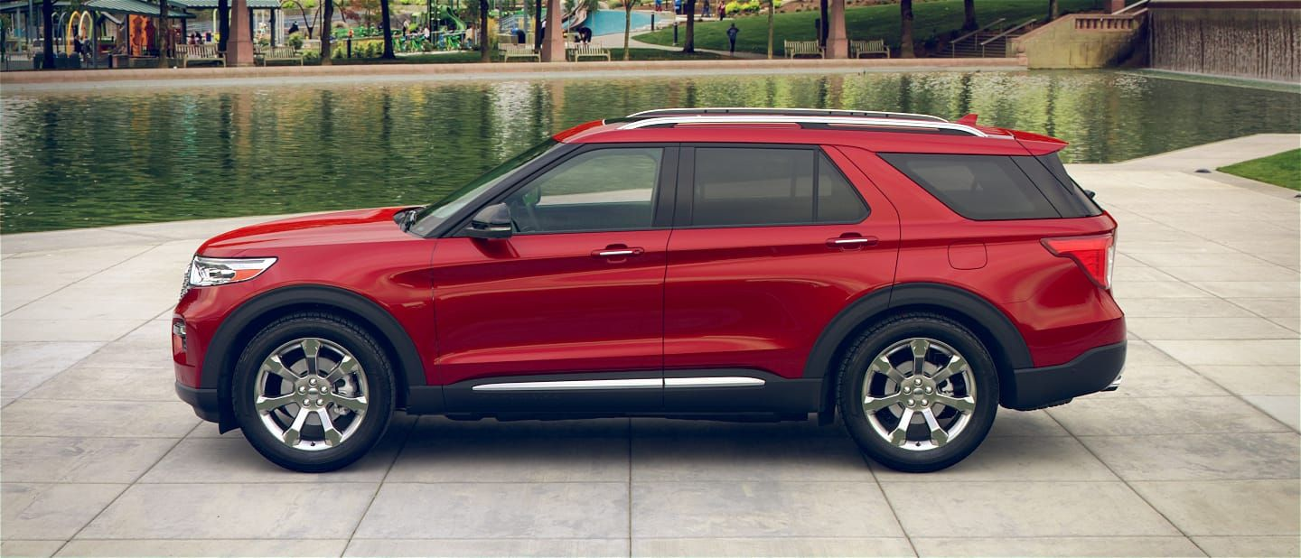 2020 Ford® Explorer SUV Photos, Videos, Colors & 360