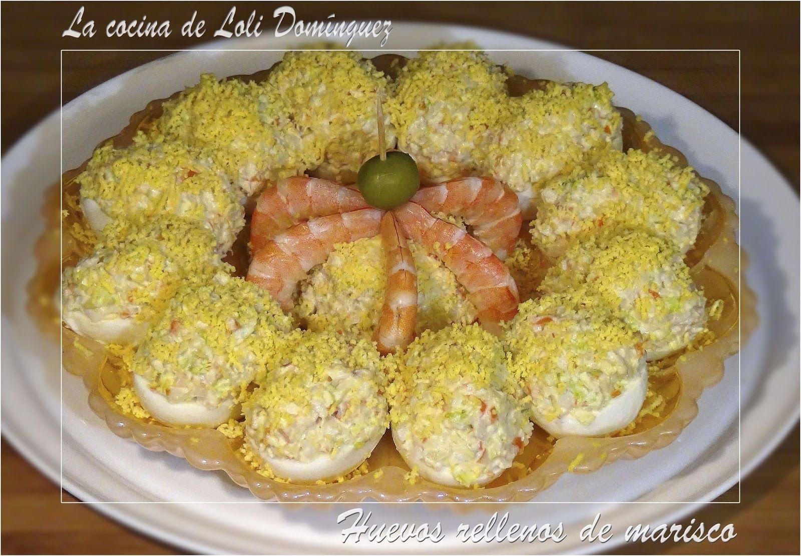 Huevos Rellenos De Marisco Para Estas Navidades Idea