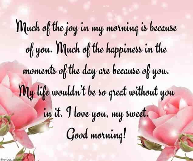 For greetings sweet boyfriend morning 150 Good