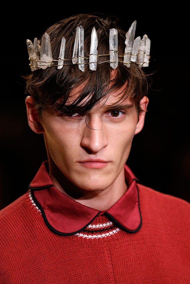 Crystal-Accented Hipster Attire - The Manuel Bolano Spring/Summer 2015 Collection is Mineral-Themed (GALLERY)