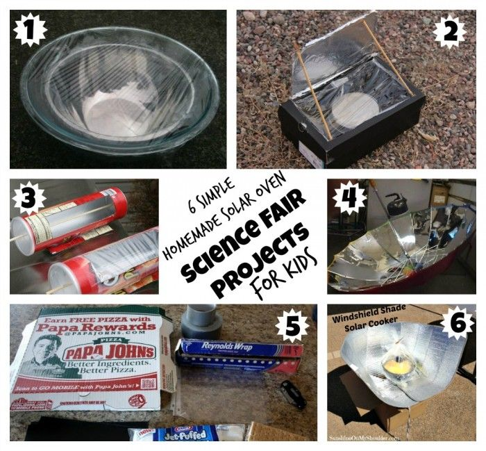 6 Homemade Solar Oven Projects For Kids Solar Cooker Solar Oven Projects For Kids