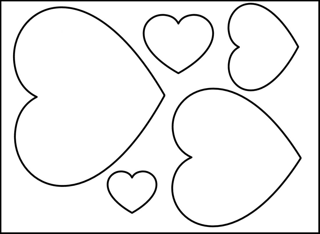 Картинки по запросу шаблон сердечка для вырезания | Riscos